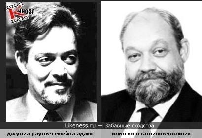Джулиа Рауль и Сергей Константинов похожи