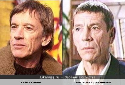 Скотт Гленн похож на Валерия Приёмыхова