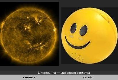 Солнце сейчас похоже на гигансткий смайлик(в телескопе)