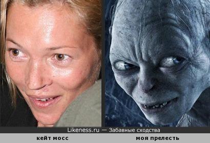 Кейт Мосс без макияжа мне напомнила
