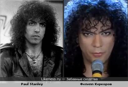 """Филипп Киркоров похож на Пола Стенли из группы """"Kiss"""""""