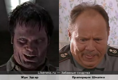 Жук Эдгар и прапорщик Шматко
