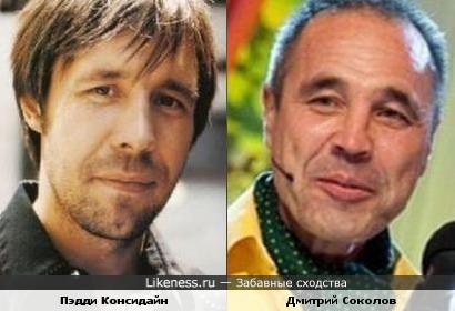 Пэдди Консидайн и Дмитрий Соколов