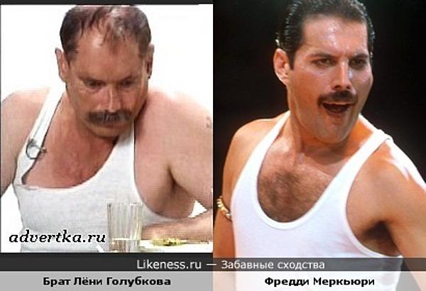 Иван из рекламы МММ похож на Фредди Меркьюри