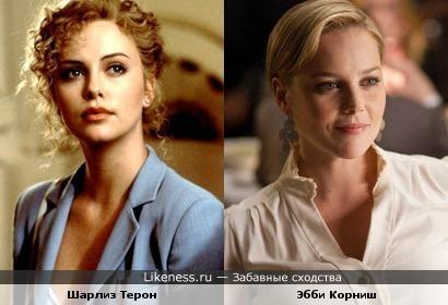 Шарлиз терон на Likeness.ru / Обсуждаемые сходства в начале ...