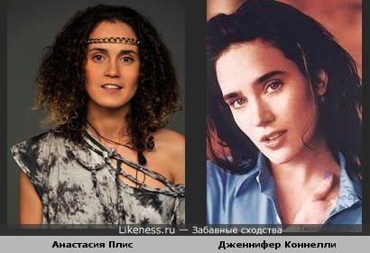 "Анастасия Плис из ""Фабрики звезд 3"" похожа на актрису Дженнифер Коннелли"