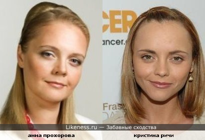 Анна Прохорова и Кристина Ричи