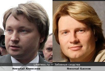 Гей-активист Николай Алексеев похож на Николая Баскова