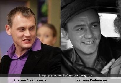 Меньщиков из дома-2 похож на Николая Рыбникова