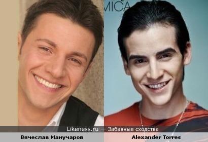 Вячеслав Манучаров похож на латино-американского актера