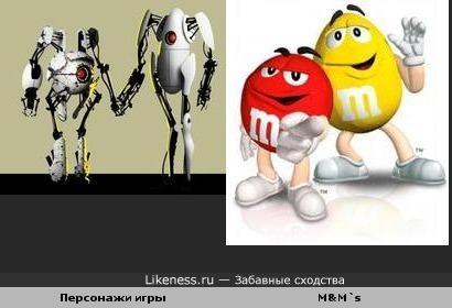 P-body и Atlas похожи на Красного и Желтого