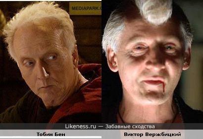 Тобин Бен похож на Виктора Вержбицкого