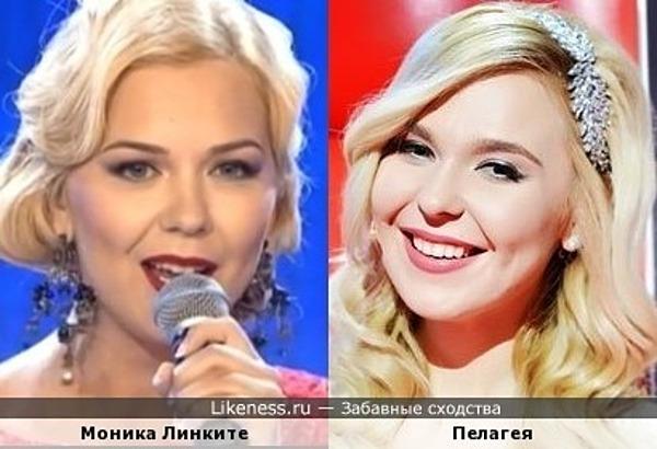 Певица Моника похожа на Пелагею
