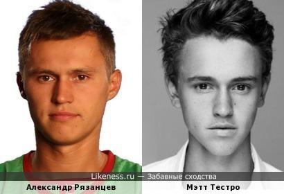Футболист Зенита похож на актера сериалов
