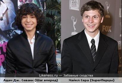 Майкл Сера и Адам Севани похожи