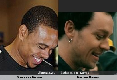 Shannon Brown похож на Darren Hayes