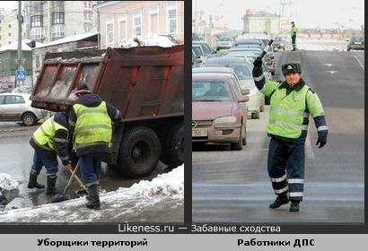 Они обеспечивают порядок на дорогах-1:)