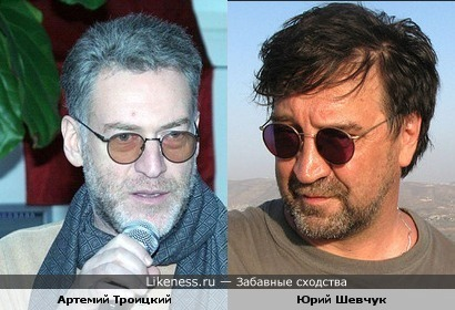 Юрий Шевчук и Артемий Троицкий похожи!