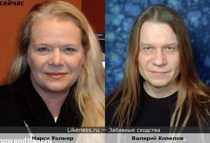 Марси Уолкер и Валерий Кипелов