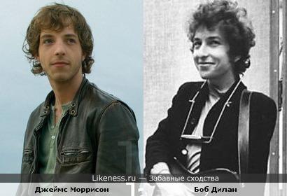 Джеймс Моррисон мне очень напоминает Боба Дилана