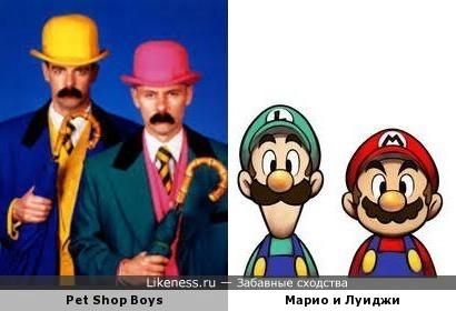 Музыканты напомнили персонажей игры
