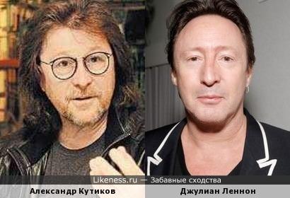 Джулиан Леннон сейчас немного похож на Александра Кутикова