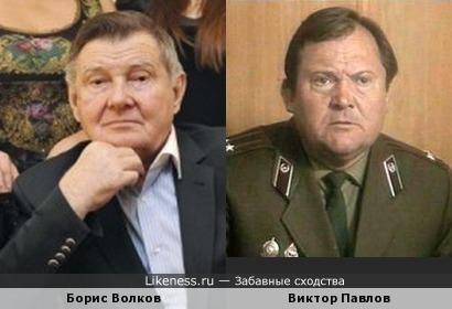 Бизнесмен Борис Волков и актёр Виктор Павлов