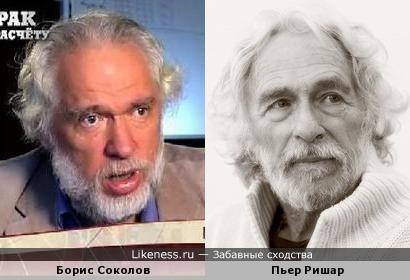 Историк Борис Соколов напомнил Пьера Ришара