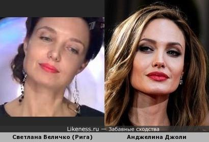 Анджелина Джоли против знатоков =)