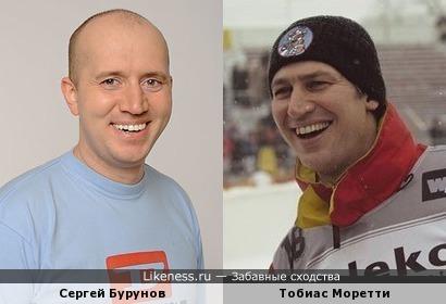 Весёлый Тобиас Моретти похож на Сергея Бурунова