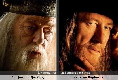 Профессор и капитан похожи.