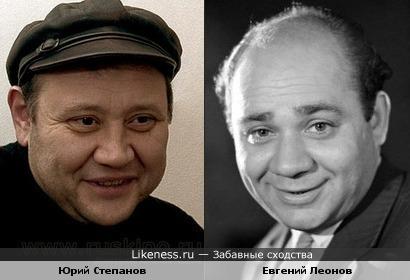 Юрий Степанов напомнил Евгения Леонова.
