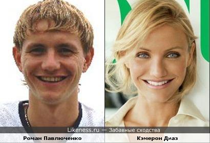 Павлюченко, Диаз, актеры, актрисы, спортсмены, улыбка