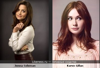 Дженна похожа на Карен, да и обе они такие няшные
