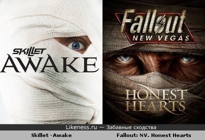 Альбом Skillet - Awake похож на DLC FallOut: New Vegas. Honest Hearts