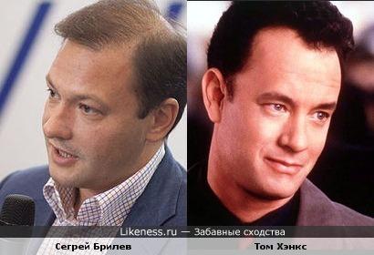 """Ведущий программы """"Вести"""" на телеканале Россия 24 похож на Тома Хэнкса!"""