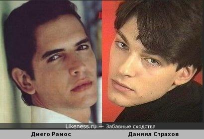 Диего Рамос и Даниил Страхов