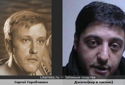 Сергей Горобченко похож на Джемо