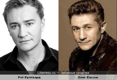 Рэймонд Култхард и Олег Кассин похожи как братья