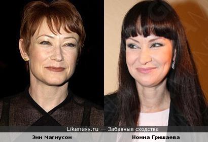 Энн Магнусон и Нонна Гришаева