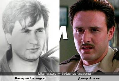Валерий Меладзе и Дэвид Аркетт