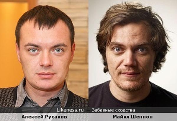 Алексей Русаков и Майкл Шеннон