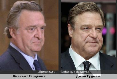 Винсент Гардения и Джон Гудман