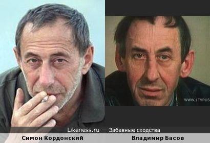 Симон Кордонский и Владимир Басов