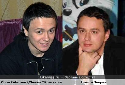 Илья Соболев и Никита Зверев похожи.