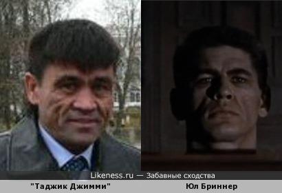 """Юл Бриннер в фильме """"Музей восковых фигур"""