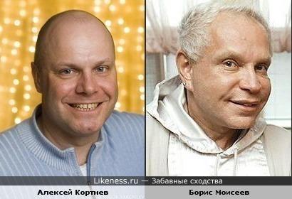 Борис Моисеев похож на Алексея Кортнева