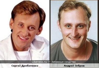 Сергей Дроботенко похож на Андрея Зиброва