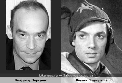 Владимир Торсуев (Электроник) и Никита Подгорный
