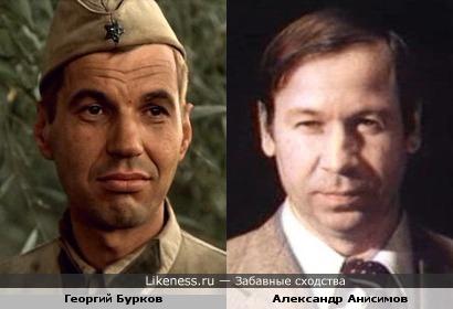 Георгий Бурков и Александр Анисимов